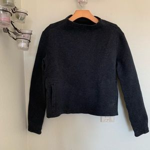 Lululemon City Bound turtleneck thick sweater sz 6